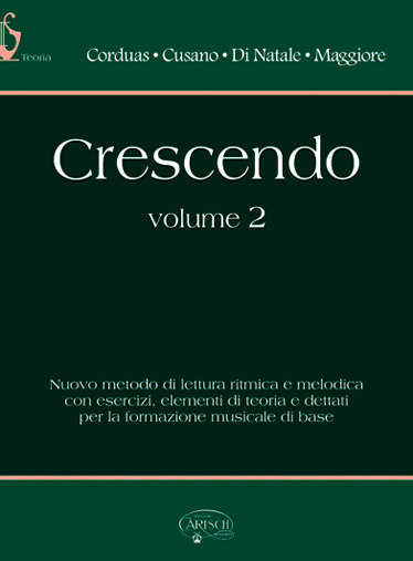 CRESCENDO VOL.2 - FORMATION MUSICALE