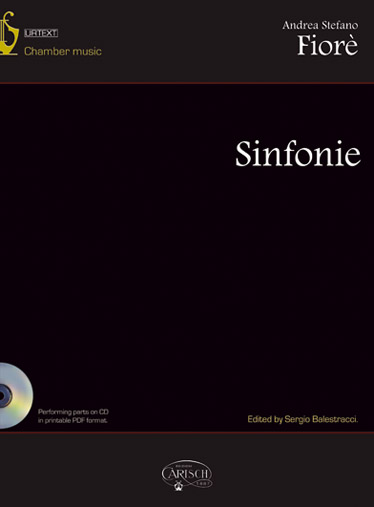 Fiorè Andrea Stefano - Sinfonie + Cd - Musique De Chambre