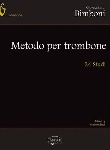 Partition Classique - Bimboni Giovacchino - 24 Studi - Trombonne