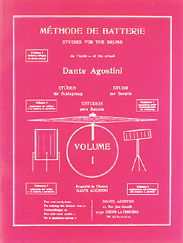 - Methode De Batterie Vol.1 : Solfège Batterie