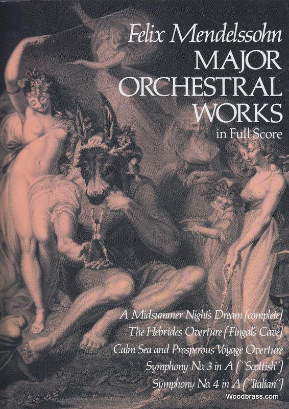Mendelssohn F. - Major Orchestral Works - Conducteur