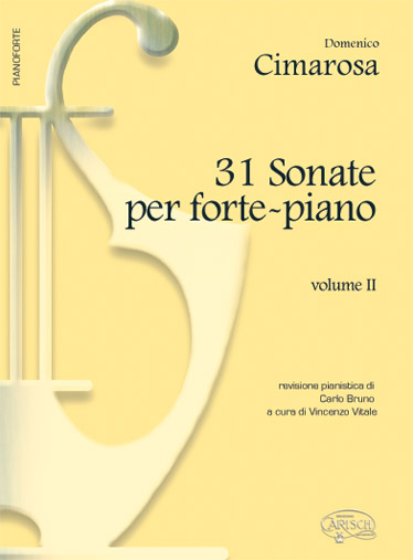 CIMAROSA DOMENICO - 31 SONATE VOL.2 - PIANO