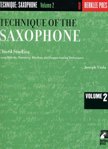 VIOLA JOSEPH - TECHNIQUE OF THE SAXOPHONE VOL.2