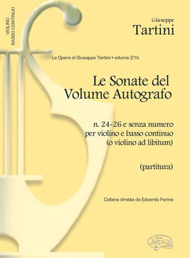 Tartini G. - Sonate Vol. 21b, N.24-26 - Violon Et Autres Instruments