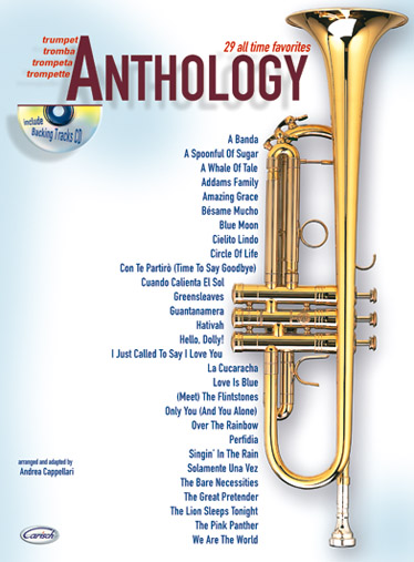 Cappellari A. - Anthology Vol.1 + Cd - Trompette