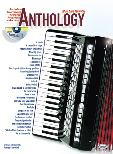 Cappellari A. - Anthology  Vol.1 + Cd - Accordeon