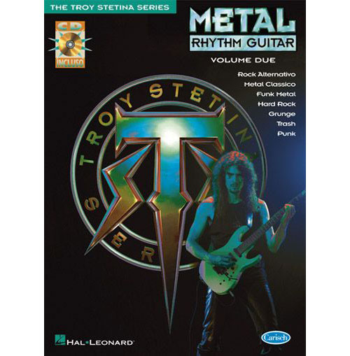 Methode - Stetina Troy - Metal Rhythm + 2 Cd - Guitare