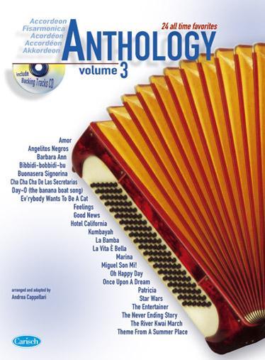 Cappellari A. - Anthology Vol. 3 + Cd - Accordeon