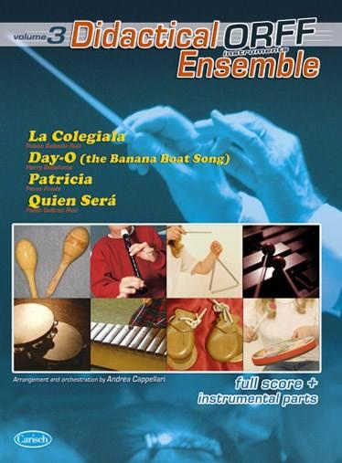 Partition Classique - Didactical Orff Ensemble Vol. 3 - Orchestre