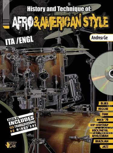 Methode - Ge Andrea - Afro and American Style + Cd - Basse