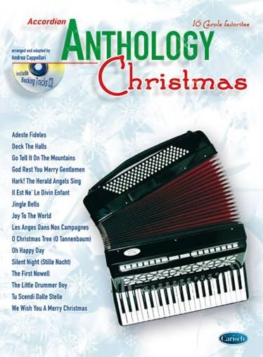 Partition Classique - Cappellari A. - Anthology  + Cd - Accordeon