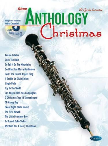 Cappellari A. - Anthology Christmas + Cd - Hautbois