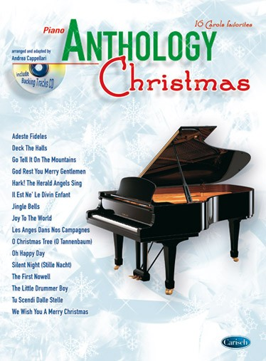 Cappellari A. - Anthology Christmas + Cd - Piano