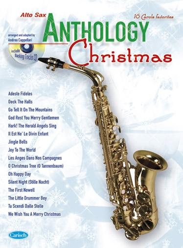 Cappellari A. - Anthology Christmas + Cd - Saxophone Alto