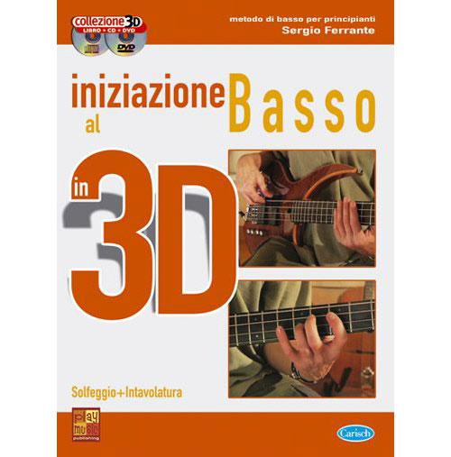 Methode - Ferrante Sergio - Iniziazione Al Basso 3d + Cd + Dvd - Basse