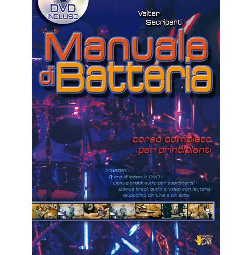 Methode - Sacripanti Valter - Manuale Di Batteria + Dvd - Batterie