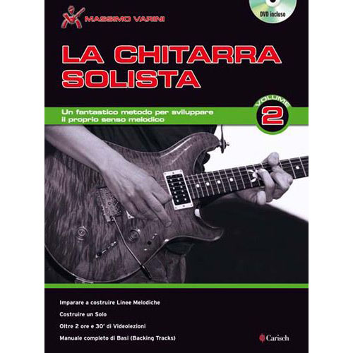 Methode - Varini Massimo - Chitarra Solista 2 + Dvd - Guitare