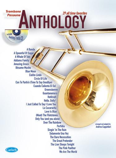 Cappellari Andrea - Anthologie Trombone Vol.1 + Cd