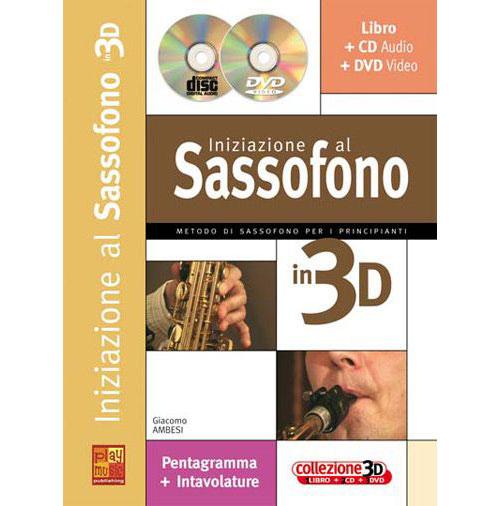 Ambesi Giacomo - Iniziazione 3d + Cd + Dvd - Saxophone