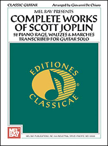 Complete Works Of Scott Joplin Guitare Solo