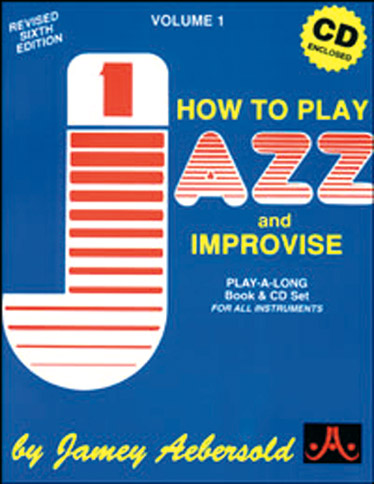 AEBERSOLD 001 - HOW TO PLAY JAZZ + CD - TOUS INSTRUMENTS