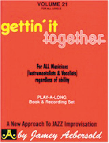 AEBERSOLD N°021 - GETTIN' IT TOGETHER + 2 CD