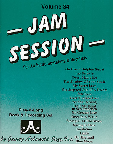 AEBERSOLD N°034 - JAM SESSION + 2 CD