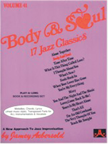AEBERSOLD N°041 - BODY & SOUL + CD