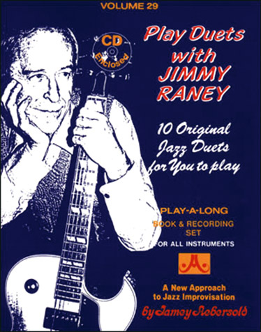 AEBERSOLD N°029 - PLAY DUETS WITH JIMMY RANEY + CD