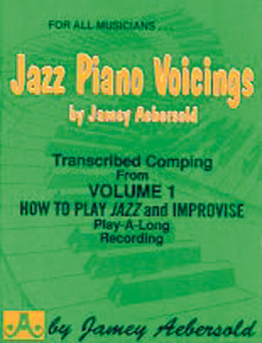AEBERSOLD JAMEY - JAZZ PIANO VOICINGS FROM VOL. 1 - PIANO