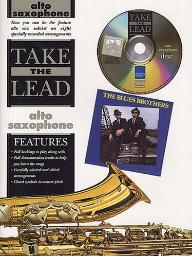 Take The Lead Blues Brothers + Cd - Saxophone Alto