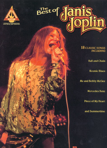 JOPLIN JANIS - BEST OF - GUITARE TAB
