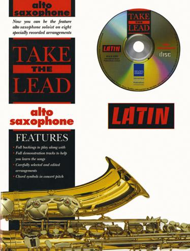 Take The Lead Latin + Cd - Saxophone Alto