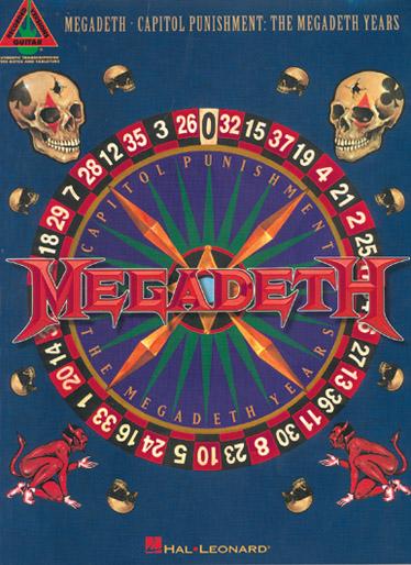 Megadeth - Capitol Punishment - Guitare Tab