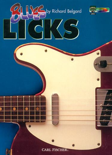 Belgard Richard - Blues Licks + Cd - Guitare