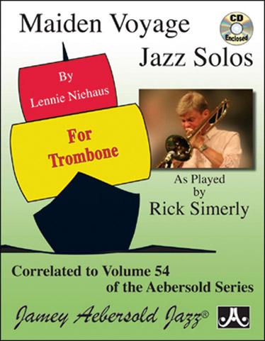 Niehaus Lennie - Maiden Voyage Jazz Solos + Cd - Trombone