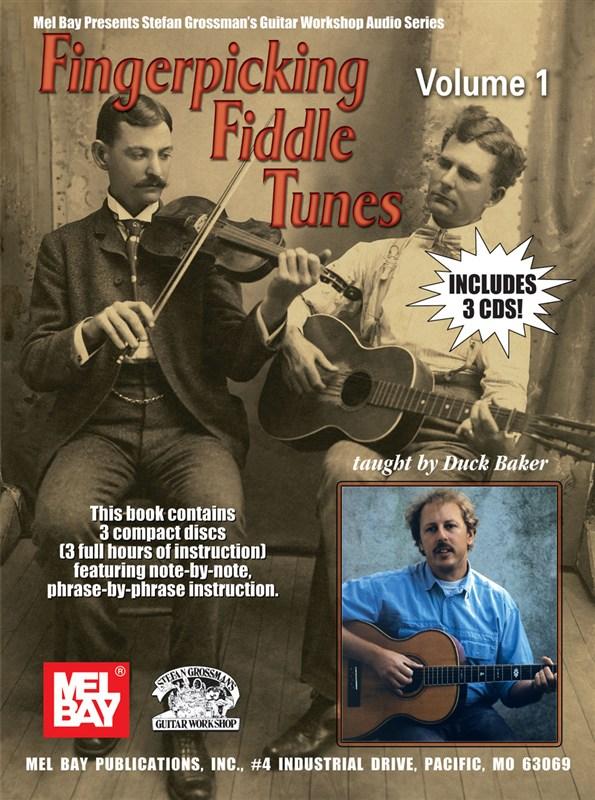 Baker Duck - Fingerpicking Fiddle Tunes, Volume 1 - Guitar