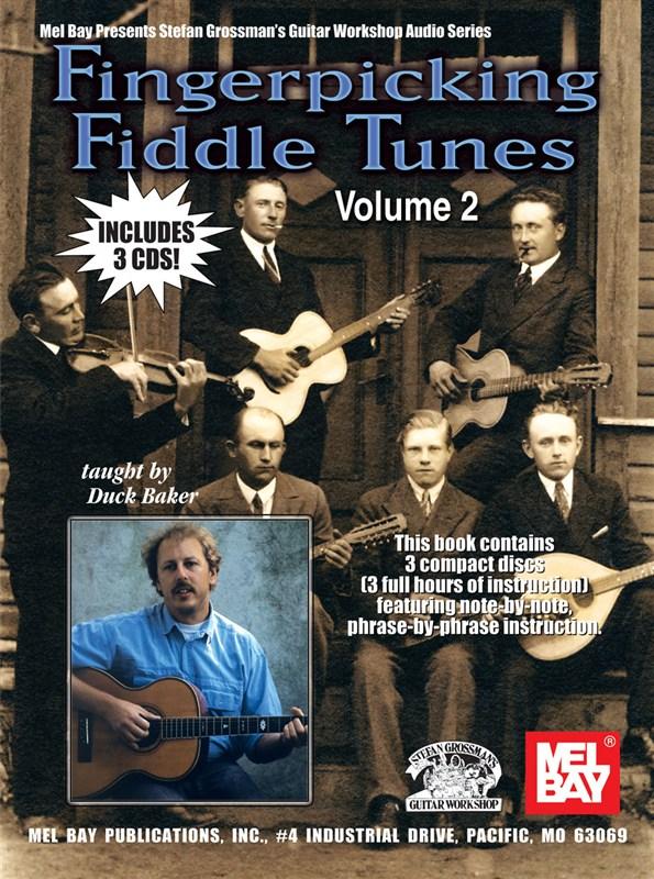 Baker Duck - Fingerpicking Fiddle Tunes, Volume 2 - Guitar