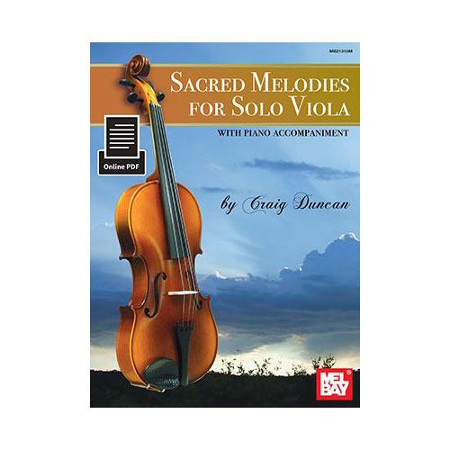 Duncan Craig - Sacred Melodies For Solo Viola - Viola