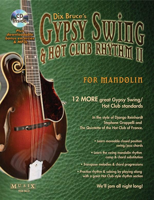 Bruce Dix - Gypsy Swing And Hot Club Rhythm Ii For Mandolin - 2 - Mandolin