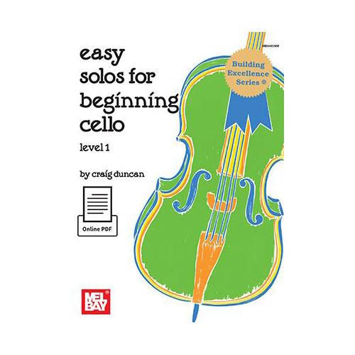 Duncan Craig - Easy Solos For Beginning Cello Level 1 - Cello