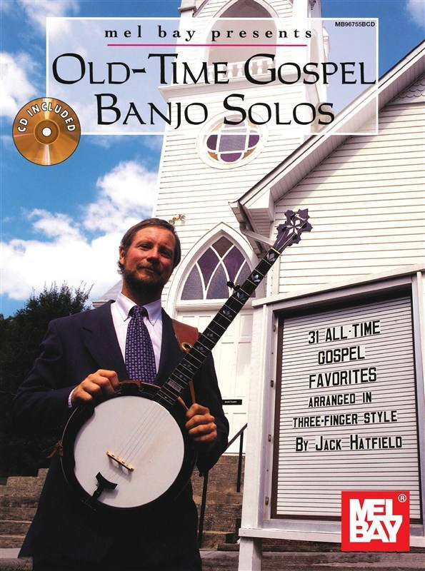 Hatfield Jack - Old-time Gospel Banjo Solos + Cd - Banjo