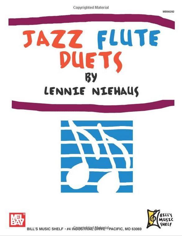 Niehaus Lennie - Jazz Flute Duets By Lenny Neihaus - Flute