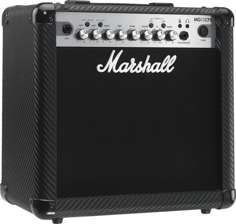 Marshall Mg15cfx - Finition Carbone/silver
