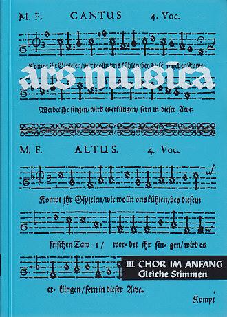 Ars Musica Vol. 3 - Voix Egales