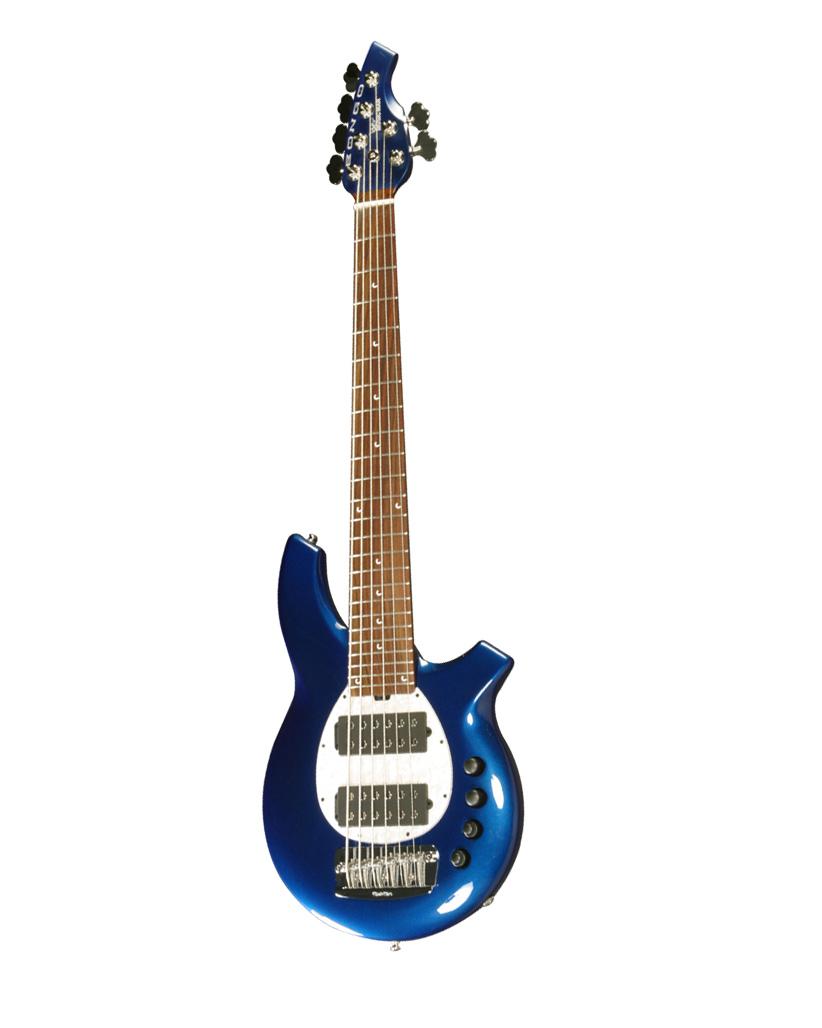 Music Man Bongo 6 Hh Mn Blue Pearl