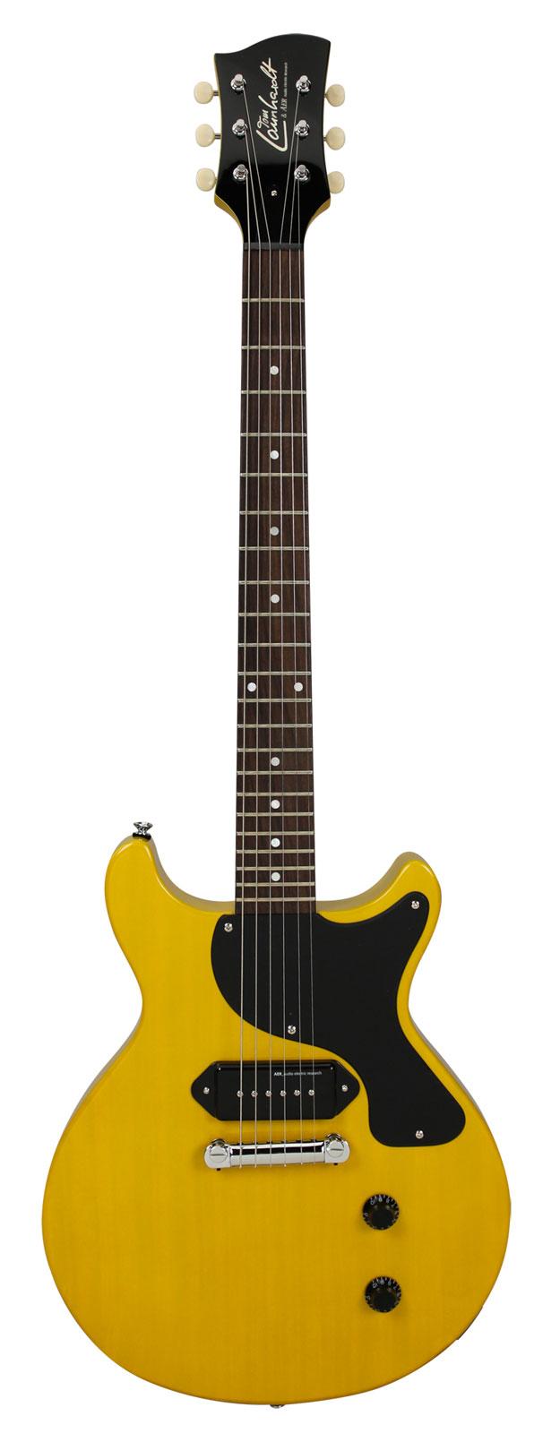tom launhardt junior vintage yellow guitares electriques. Black Bedroom Furniture Sets. Home Design Ideas