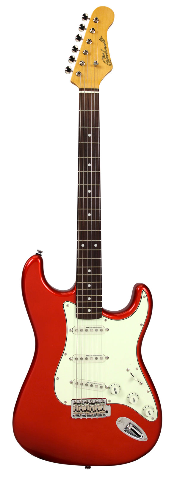 TOM LAUNHARDT ST61 CANDY APPLE RED RW