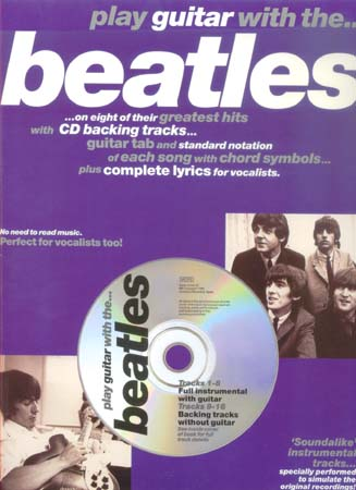 PLAY GUITAR WITH... BEATLES VOL.1 + CD