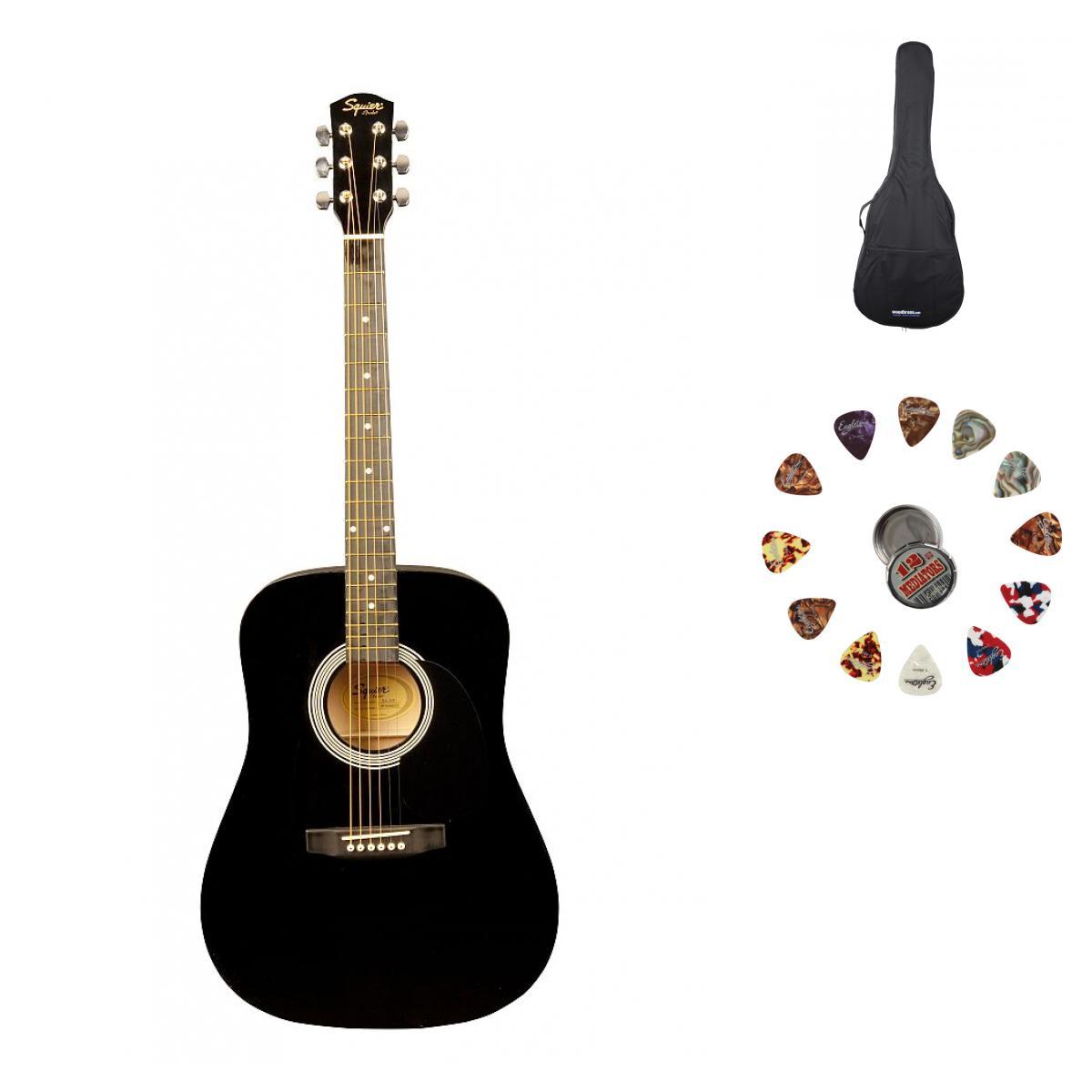Squier By Fender Sa 105 Black